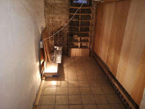 Gefliester Lagerraum Kellerraum 6 5m²