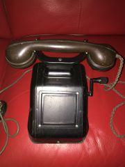 Kurbelinduktor DR Deutsches Reich Streckentflefon