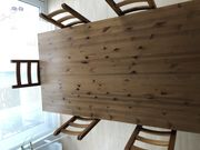IKEA Forsby Esstisch mit 6