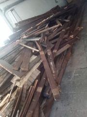 unbehandeltes Holz zum verschenken