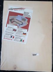 4 Stück 4 mm Sperrholzplatte