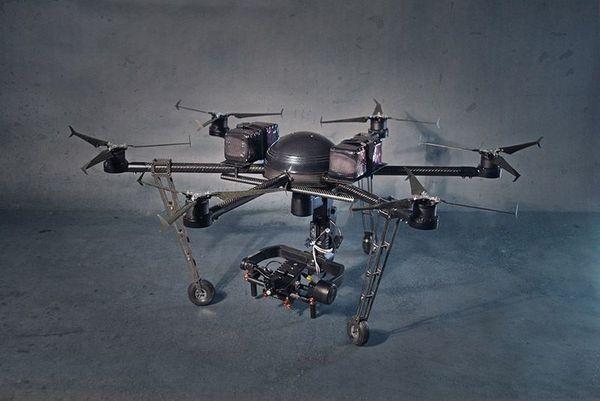 Hexakopter Drohne Optris Flir Mikrokopter
