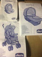 Chicco Kombi Kinderwagen 4tlg