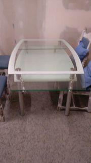 Esszimmerglastisch ausziehbar