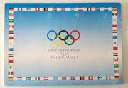 OLYMPIA 1992 Briefmarkenkalender Briefmarken aus