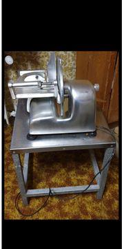 Elektrische Aufschnittmaschine Bizerba Typ VE