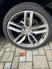 Audi Q5 Felgen Titanoptik glanzgedreht