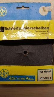 Schleifpapier Schleifblätter Schleifscheiben 125 mm