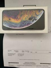 IPhone XS 512 Silver neu