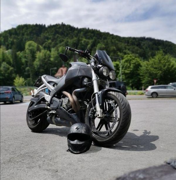 Buell XB12Scg XB12 Scg Harley HeroBlue 2009er - Topseller
