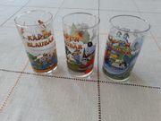 3 Trinkgläser Käptn Blaubär Kinder