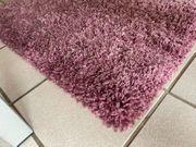 Langflorteppich rosa