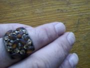 Omas alter antiker Ring Dachbodenfund