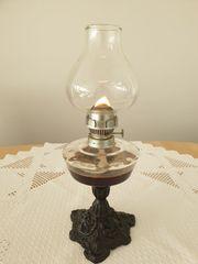 Lampe - Öllampe petroleumlampe Alt Mit
