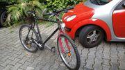 Mountain -Crossbike Schauff Schwarz 26-Zoll