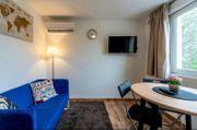 Een gemeubileerde woonkamer 42 m2