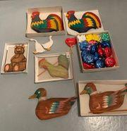 Flohmarktware Ostern Weihnachten sowie Porzellan