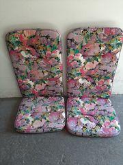 2 Sitzpolzter für Gartenstühle