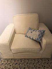 Sessel mal zwei in Creme