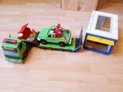 Playmobil Schwertransporter Auto Garage