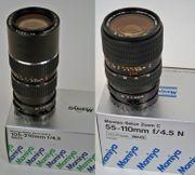 Mamiya-Zoom-Objektive 55-110mm 105-210mm für Mamiya