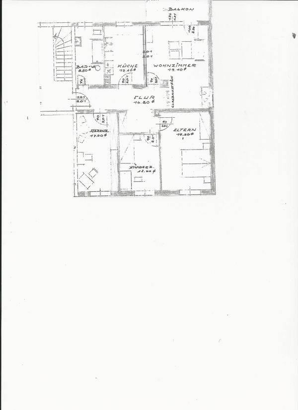 Schöne 3 Zimmer Dachgeschoßwohnung