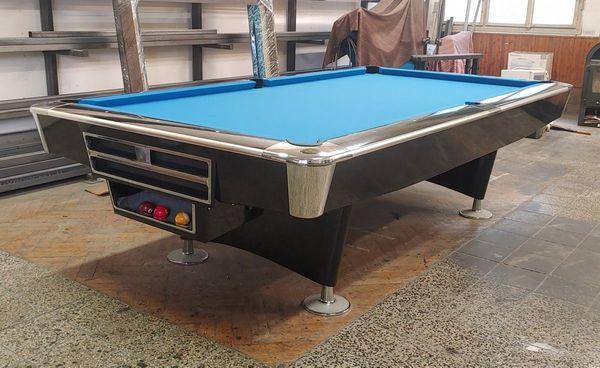Turnier Pool Billardtisch Buffalo Pro II 9 ft mit Ballrücklauf-System