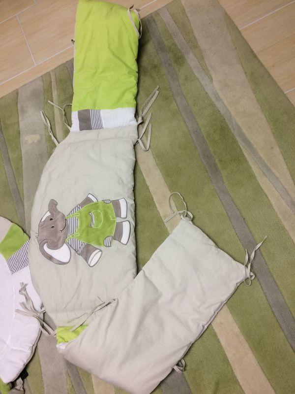 Nestchen für Kinderbett von Sterntaler