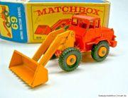 Matchbox 69B Hatra Tractor Shovel