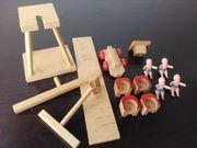 Beck Holz Baukasten Spielplatz Retro