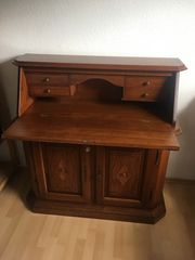 Schreibtisch Sekretär massives Holz