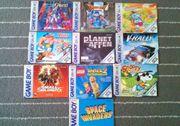 Gameboy Gameboy Color Spielanleitungen