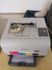 Samsung CLP-300 Farblaserdrucker DEFEKT