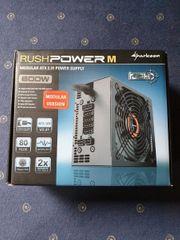 Netzteil 600W Sharkoon Rush Power