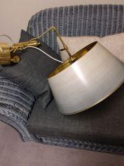 Lampe Hängezuglampe Messing Eßtisch-Lampe von