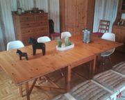 Ikea Tisch ausklappbar Leksvik Massivholz