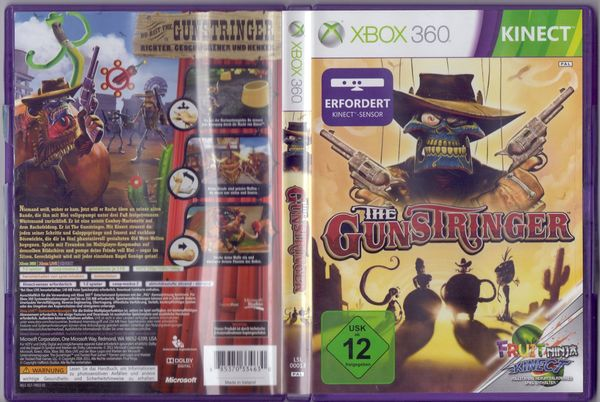 Xbox 360 Spiel Gunstringer - Kinect