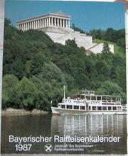 Kalender Bayer Raiffeisenkalender 1987 Gelegenheit