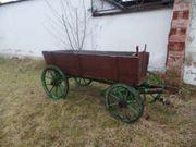 Alter großer Bollerwagen