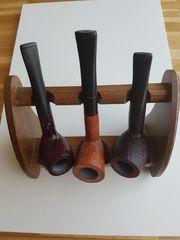 Pfeifenständer aus Holz mit 3