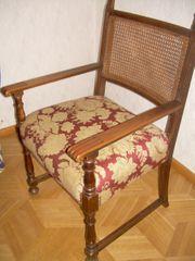 Schreibtisch Anrichte Stuhl altdeutsch Nußbaum