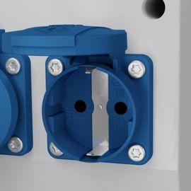 Elektro, Heizungen, Wasserinstallationen - Baustromverteiler TD-S FI 1x16A 2x230V