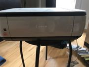 Canon color printer and scanner