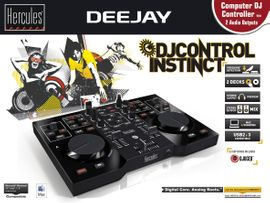 DJ, Disco (Equipment) - DJ Contoler Instinct von Hercules