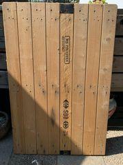 Originelle Tischplatte Holz