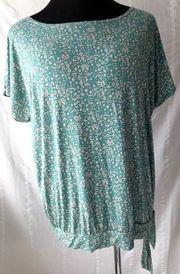Damen Shirt Blusenshirt Yessica Grün