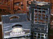 2 Krombacher Bierkästen CD Ständer