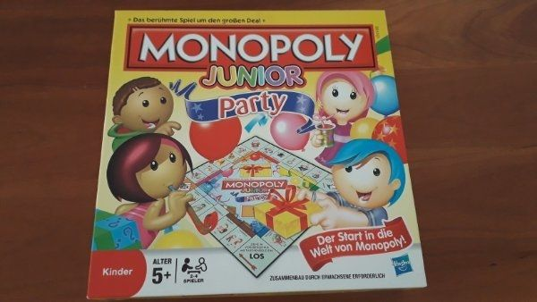 Monopoly Junior Party