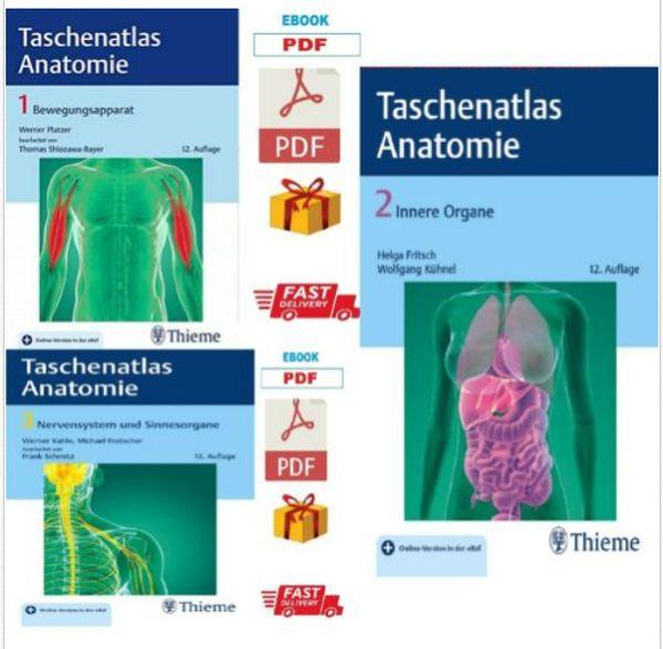 Taschenatlas Anatomie Band 1 Band 2 Band 3 Innere Organe E B00 K In Berlin Schul Und Lehrbedarf Kostenlose Kleinanzeigen Bei Quoka De
