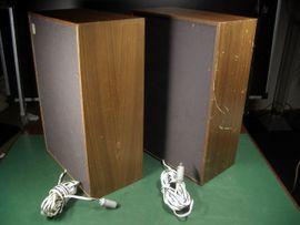 Boxen, Lautsprecher, Kopfhörer - Vintage 2 Wege Boxen Westra